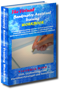 Virtual Bankruptcy Assistant Workbook